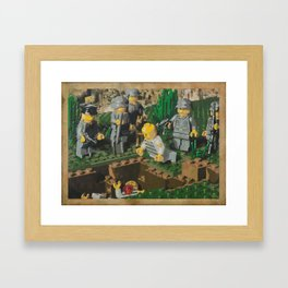 The Death of 90064 Framed Art Print