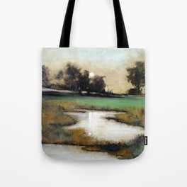 Marshland in Wilmington, North Carolina Tote Bag