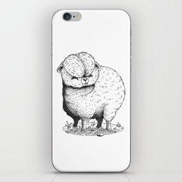 Fluffy Lama iPhone Skin