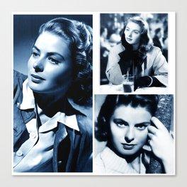 Ingrid - Ladies and Gentlemen, Ingrid Bergman Canvas Print