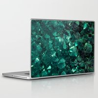 emerald Laptop & iPad Skins featuring Emerald by Lotus Effects