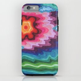 blissful mist iPhone Case