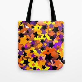 Halloween Star Crazy Tote Bag