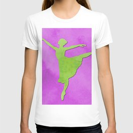 AP123 Watercolor dancer T-shirt