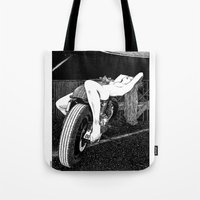 apollonia Tote Bags featuring asc 585 - L'étalage (The display) by From Apollonia with Love
