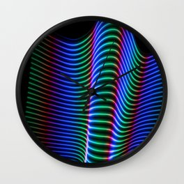 Wave of Light Wall Clock