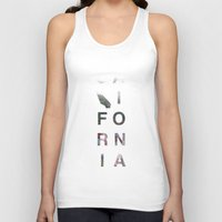 california Tank Tops featuring California by Kyle Naylor
