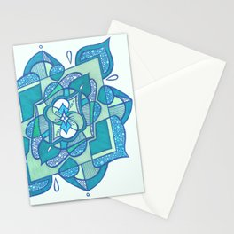 Radial 6 Stationery Cards