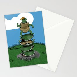 Yertle The Turtle Stationery Cards