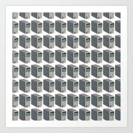 Bench power supply PATTERN Art Print