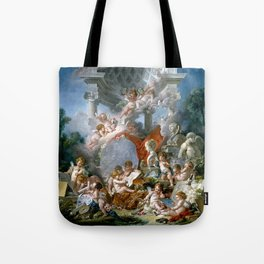 Geniuses of the Arts - Francois Boucher Tote Bag