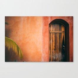 Tropical Gateway Canvas Print