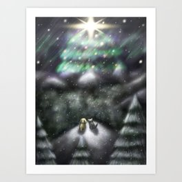 Christmas Wish 2015 Art Print
