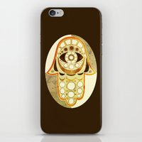 hamsa iPhone & iPod Skins featuring Hamsa by S.G. DeCarlo