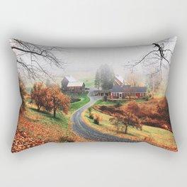 farm in vermont Rectangular Pillow