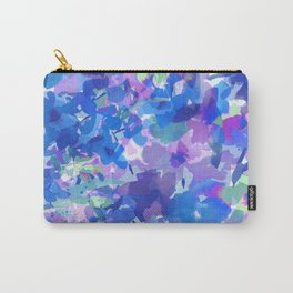Spring Blues Carry-All Pouch