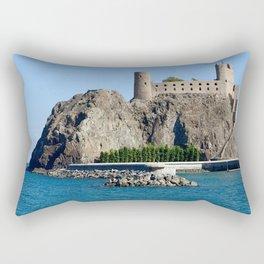Al Jalali Fort Muscat Oman Rectangular Pillow