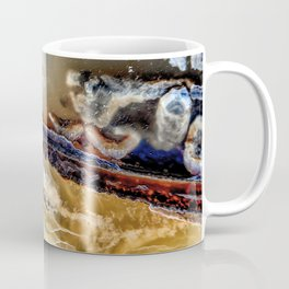 Smoke and fire agate Coffee Mug