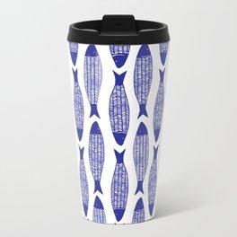 Blå Sild Metal Travel Mug