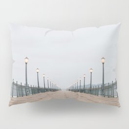 Morning at the Pier Pillow Sham