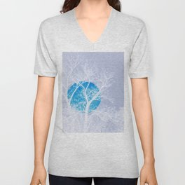 Once in a blue moon Unisex V-Neck