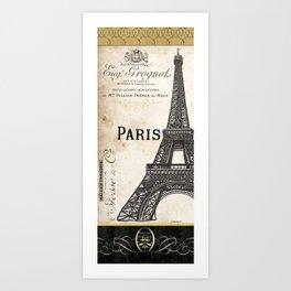 Paris Ooh La La 1 Art Print