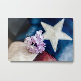 Lilac & The Lone Star Metal Print