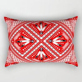 Deeds Well Done Rectangular Pillow