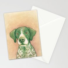 Pointer dog - Jola 02 Stationery Cards