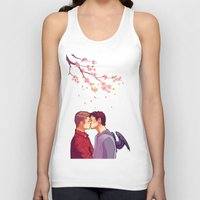 cherry blossoms Tank Tops featuring Cherry Blossoms by brightfallenstars
