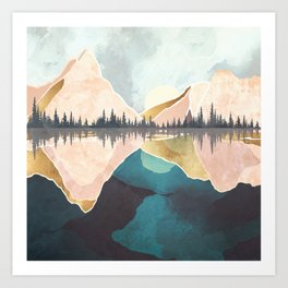 Summer Reflection Art Print