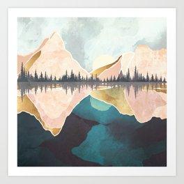 Summer Reflection Art Print