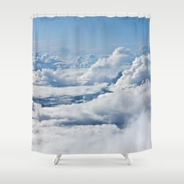 Arctic Clouds Shower Curtain