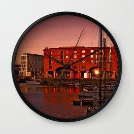 Albert Docks, Liverpool Wall Clock