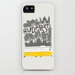 Budapest Cityscape iPhone Case