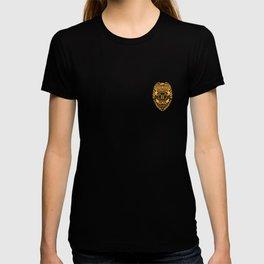 U.S. Military Police Veteran Security Force Badge, Gold T-shirt