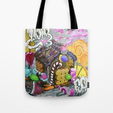 candy house Tote Bag