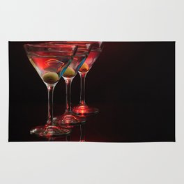 Red hot martinis. Rug