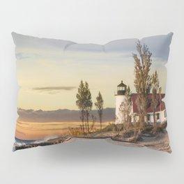 Point Betsie Lighthouse at Sunset Pillow Sham