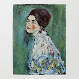 "Gustav Klimt ""Portrait of a lady"" Poster"