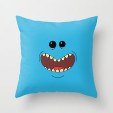 I'm mister Meeseek Look at me Throw Pillow
