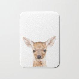Baby Deer Animals Art by ZouzounioArt Bath Mat
