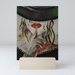 Mystery Woman Mini Art Print