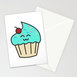 Cupcake baking bakers gift idea funny baker cook Stationery Cards