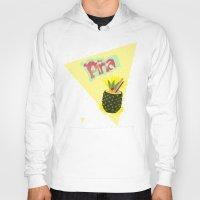 pineapple Hoodies featuring PINEAPPLE by Nika