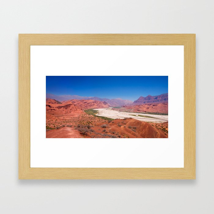 Quebrada de las Conchas - Salta - Argentina Framed Art Print