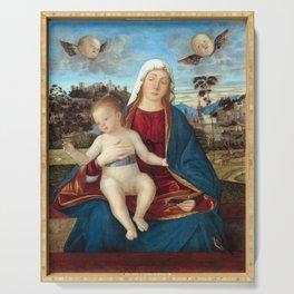 Carpaccio Madonna and Child Serving Tray