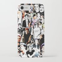 niall horan iPhone & iPod Cases featuring Punk Niall Horan College by Becca / But-Like-How