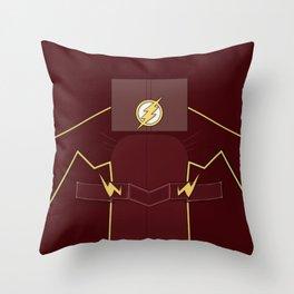 Superheroes phone | The Flash #3 version Throw Pillow