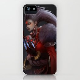 Blood Moon Diana iPhone Case